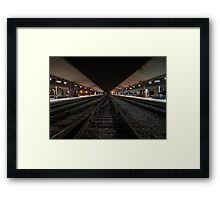 LA Tracks Framed Print