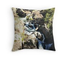 Little Millstream Falls Throw Pillow