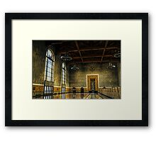 Union Station Hall Framed Print