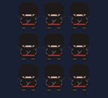 Mekkachibi Ninja Army (Black) by Eozen