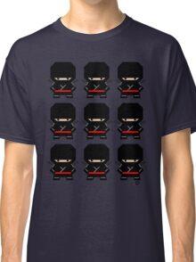 Mekkachibi Ninja Army (Black) Classic T-Shirt