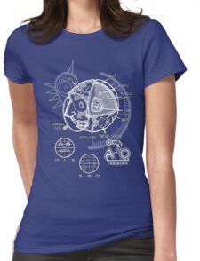 Majora's Moon Womens Fitted T-Shirt