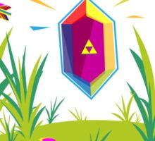 Legend of Zelda Seek and Ye Shall Find Sticker