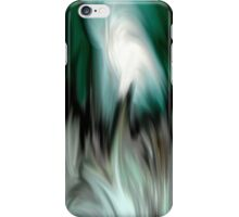 abstract green art iPhone Case/Skin