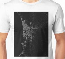 Perth map Australia Unisex T-Shirt