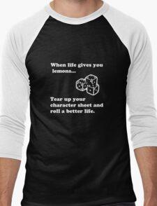 Lemons Men's Baseball ¾ T-Shirt
