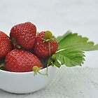 Strawberries, but no cream by Heather Thorsen