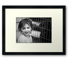 My Best Friend Pepper Framed Print