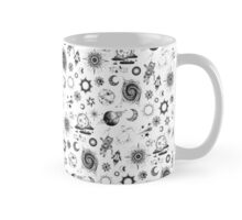 Space Exploration Pattern Mug