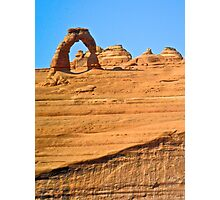 Delicate Arch from Lookout Point Photographic Print