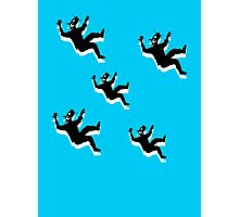 Falling with Rats Photographic Print