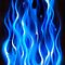 Blue Flames iPhone case by Jnhamilt