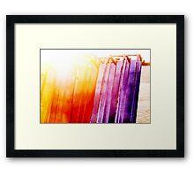 Dazzled  Framed Print