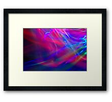 Abstract Light Painting Framed Print