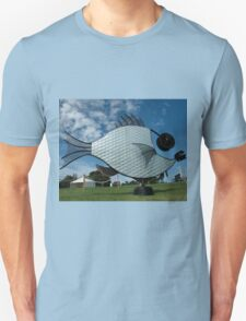 Silver Fish,Sculptures on The Edge,Australia 2015 T-Shirt