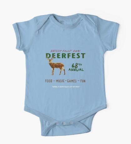 68'th Annual Deerfest! One Piece - Short Sleeve