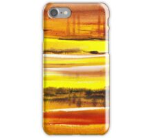 Reflections Abstract Landscape  iPhone Case/Skin