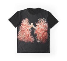 Real lungs - Respiratory system Graphic T-Shirt