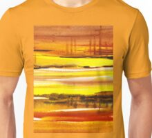 Reflections Abstract Landscape  Unisex T-Shirt