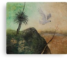 LANDSCAPE OF THE LOST COCKATOO Canvas Print