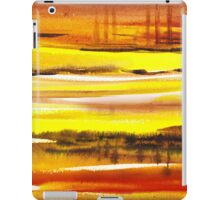 Reflections Abstract Landscape  iPad Case/Skin