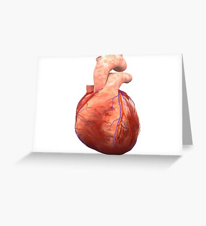 Awesome Real Heart Greeting Card
