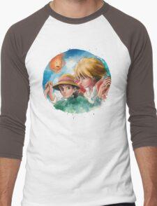 One Magical Family Sophie and Howl Men's Baseball ¾ T-Shirt