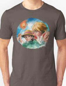 One Magical Family Sophie and Howl Unisex T-Shirt