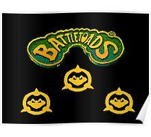 3 BattleToads - 8bit Poster