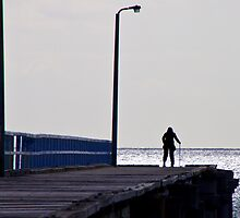 'Will She Come Home?', Seaford Pier, Victoria, Mornington Peninsula, Australia, Seascape by Ben  Cadwallader