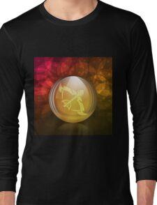 Luminescent snow globe Long Sleeve T-Shirt