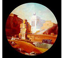 Roma,  teatro Marcello  ruins. Photographic Print