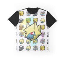 Electric Shuffle #2 Graphic T-Shirt