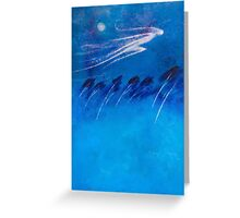 BOREAS - THE NORTH WIND Greeting Card