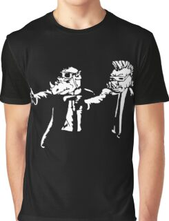 Bebop Rocksteady - Thug life - Pfiction mashup Graphic T-Shirt