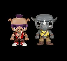 Bebop Rocksteady KIDS by MagicRoundabout