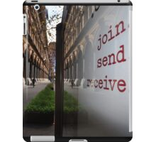 Join, Send, Receive, Martin Place, Sydney, Australia 2014 iPad Case/Skin