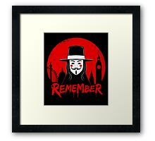 Remember the Fifth Framed Print