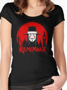 Remember the Fifth Women's Fitted Scoop T-Shirt