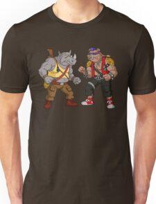 Bebop Rocksteady - Funny big print Unisex T-Shirt