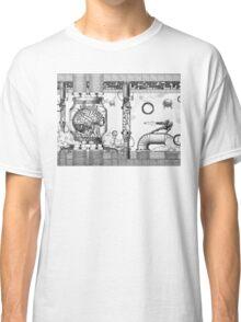 Vintage Metroid Mother Brain Engraving Classic T-Shirt