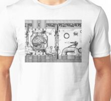 Vintage Metroid Mother Brain Engraving Unisex T-Shirt