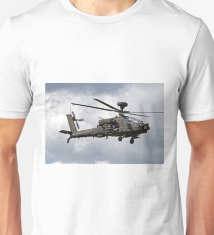 British Army Air Corps AugustaWestland Apache AH.1 Helicopter Unisex T-Shirt