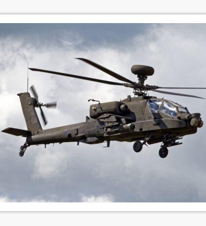 British Army Air Corps AugustaWestland Apache AH.1 Helicopter Sticker