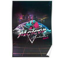 Meteor Manhattan 2019 EP Artwork Poster