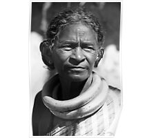 Tribal Woman Poster