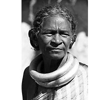 Tribal Woman Photographic Print