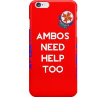 Help The Ambos iPhone Case/Skin