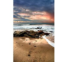 Ditch Plains Montauk Photographic Print