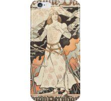 Vintage poster - Joan of Arc iPhone Case/Skin